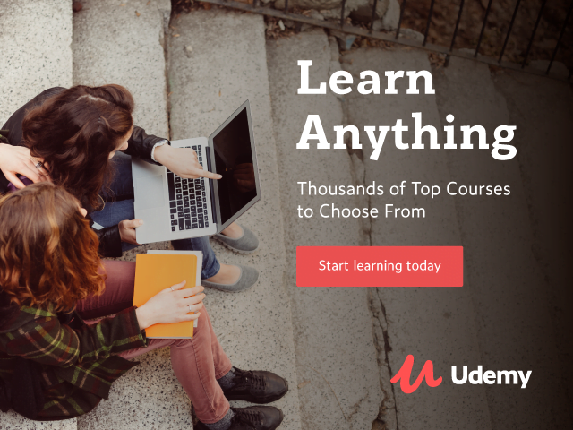 Learn Anything Udemy